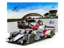 Spark ORECA 07 GIBSON LMP2  Jackie Chan DC Racing 2nd Le Mans 2017 #38 1/18 New!