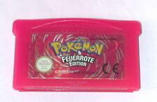 Spiel: POKEMON FEUERROTE EDITION für Gameboy Advance + SP + DS - speichert