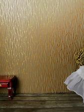 "tolle TAPETE,broncefarbig  Strukturen mit Braun,Puppenstube,30cmx53,""3D""fühlbar"