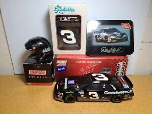 1994 Dale Earnhardt Sr #3 GM Goodwrench BWB 1:24, 1:4 Helmet, Cards, & Castables