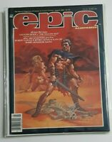 EPIC ILLUSTRATED ISSUE #19 MARVEL MAGAZINE AUGUST 1983 DL