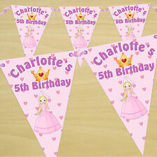 Princess/Fairies Paper Party Banners, Buntings & Garlands