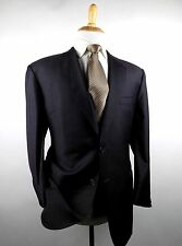 Gorgeous Jos. A Banks Signature Gold 2 Btn Gray Solid Wool Sport Coat Blazer 44R