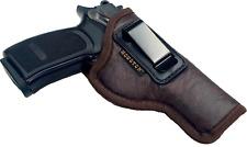 "1911 5"" Full Size (Colt/Kimber/Springfield/S&W/RIA) IWB NEW BROWN Gun Holster"