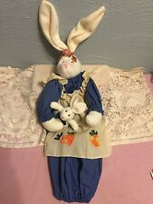 W.M.G. Handcrafted bunny Plastic Bag Holder