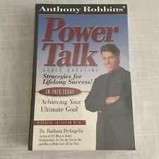 Anthony Robbins' Power Talk Audio Magazine Dr Barbara DeAngelis Cassette Sealed