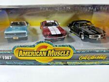 Ertl American Muscle Class of 1967 Camaro SS Firebird Shelby GT-350 1/43 Diecast