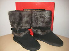Style & Co Shoes Size 7 M Womens New Muffy Black Fashion Winter Boots NWB