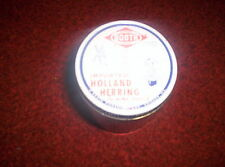 Vintage 8 oz. Imported Holland Herring in Wine Sauce Booth Foods Jar USED