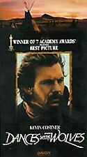 Dances with Wolves VHS 1993 Kevin Costner Mary McDonnelly