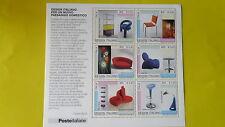 REPUBBLICA ITALIANA 2001 FOGLIETTO NUOVO DESIGN ITALIANO (II) T110