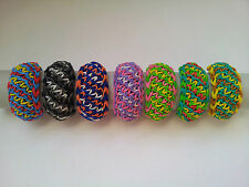 Rainbow Loom Rubber Band Bracelet - Grace, Pick or Custom Made