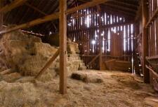 LFEEY 5x3ft Farmhouse Hay Bale Backdrop Western Farm Background Photo Booth