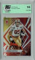 George Kittle 2020 Phoenix #84 Fanatics Fire Burst Card PGI 10