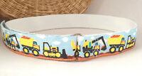 D-ring printed belt handmade NEW DESIGN Belt for toddlers Pac Man hook and loop