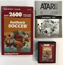 Atari 2600 REALSPORTS SOCCER