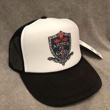 Armor Of God Trucker Hat Vintage Style Snapback Christian Cap Ephesians 2329