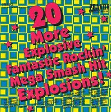 Various– 20 More Explosive Fantastic Rockin' Mega Smash Hit Explosions!