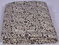 Indian Floral Print 2.5 Yard Beautiful Hand Block Jaipuri Cotton Cloth Fabric