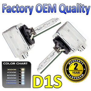 Citroen C4 04-on Picasso D1S HID Xenon OEM Replacement Headlight Bulbs 66144