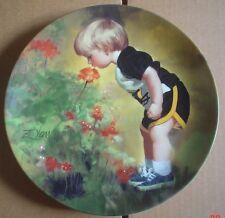 Pemberton & Oakes Collectors Plate GRANDMA'S GARDEN From WONDER OF CHILDHOOD #2
