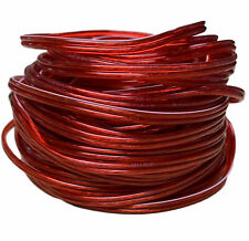 IMC Audio 10 FT 18 Gauge Speaker Cable Wire Roll For Home or Car RED