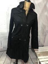 Lands End Black Winter Autumn Coat Jacket Size 6 Small S Short  India