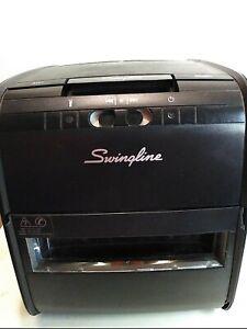 Swingline Auto Feed Paper Shredder, 60 Sheets, Cross-Cut 60x
