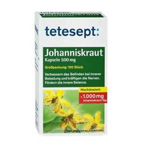 Tetesept Johanniskraut-Kapseln · 100 St · PZN 08518216