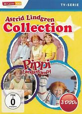 Astrid Lindgren Collection : Pippi Langstrumpf (3DVD Box) - DVD NEU - (2471)