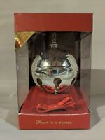 LENOX 2008 Silver Plated 1st Annual Holiday Sleigh Bell Ornament