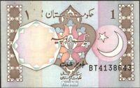 Pakistan Pick-Nr: 27l gebraucht (III) 1983 1 Rupee