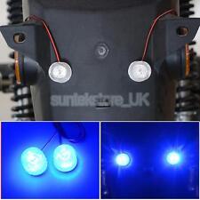 2x LED Car Strobe Bulb Light Warning Emergency Flash 12V-85V 2x1W Red+Blue