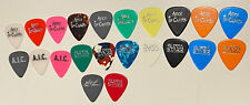 ALICE IN CHAINS Guitar Pick : 2009 Mike Starr-  Lot of 22 Different Guitar Picks