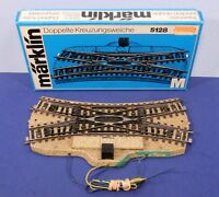 Marklin HO Scale Metal Double Slip Switch Track 5128 - Works Manual Only / 1031b