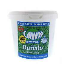 Lawn Pro Buffalo Blend Grass Seed 2.5kg Covers 250sqm Drought Heat Resistant