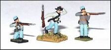 GHQ ACW 10mm Infantry Skirmishers in Action Poses (CSA) ACW-25