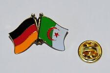 FREUNDSCHAFTSPIN 0336 PIN ANSTECKER DEUTSCHLAND / ALGERIEN FAHNE METALL PINS