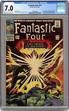Fantastic Four #53 CGC 7.0 1966 3758088008 2nd app. Black Panther