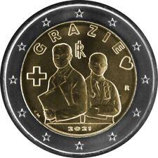 Heilberufe Gesundheitswesen ? 2-Euro-Münze ? Italien 2021 ? Grazie, Vielen Dank