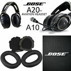 Replacement Ear Pads Cushion for BOSE Aviation Headset X A10 A 10 A20 Headphones