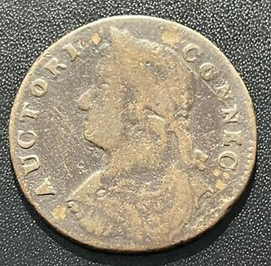 Connecticut 1787  AUCTORI CONNEC / ETLIB INDE Copper Coin