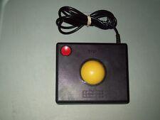 ATARI 2600 CX-2600 BLACK & RED WICO COMMAND CONTROL TRACKBALL CONTROLLER #1