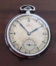 Vintage OMEGA Pocket Watch Sector Dial Cal 38.5L.T1 Serviced