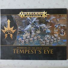 TEMPEST'S EYE NOTICE ASSEMBLAGE BOOKLET INSTRUCTIONS RULES WARHAMMER AOS