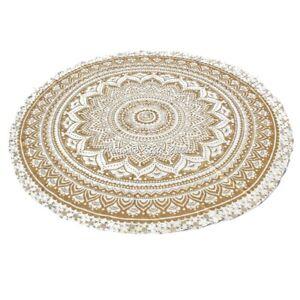Indian Roundie Round Mandala Hippie Tapestry Beach Throw Towel Yoga Mat Bohemian