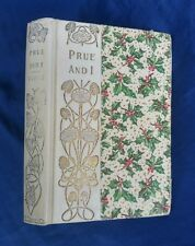 Prue and I George William Curtis Antique 1900 Victorian Fiction Shabby Chic