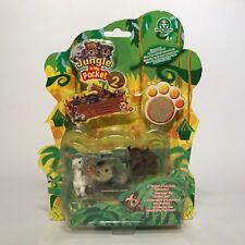 The original Jungle in My Pocket series 2-jirafa, jabalí, búfalos + 1