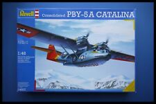Vintage Revell Consolidated PBY-5 A CATALINA 1:48 Model Kit