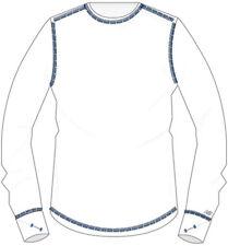 New Balance Women's 400 Go 2 Long Sleeved Tee Size 2XL (White/Avaitor)